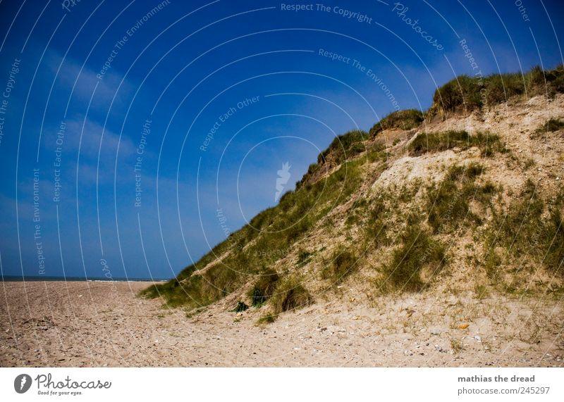 DÄNEMARK - I Himmel Natur Wasser blau schön Pflanze Sommer Strand Wolken Umwelt Landschaft Gras Küste Luft Horizont Wind