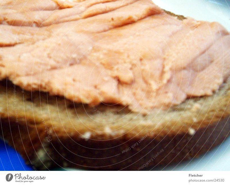 brot Ernährung Bodenbelag Speise Brot Teller Wurstwaren Kruste Fleisch essbar Teewurst