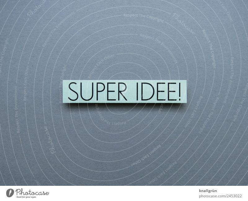 Super Idee! Geistesblitz Denken Gehirn Erkenntnis Erleuchtung genial Lösung Gedanke klug Mensch Gehirn u. Nerven Kopf Kreativität nachdenken Wissen Neugier