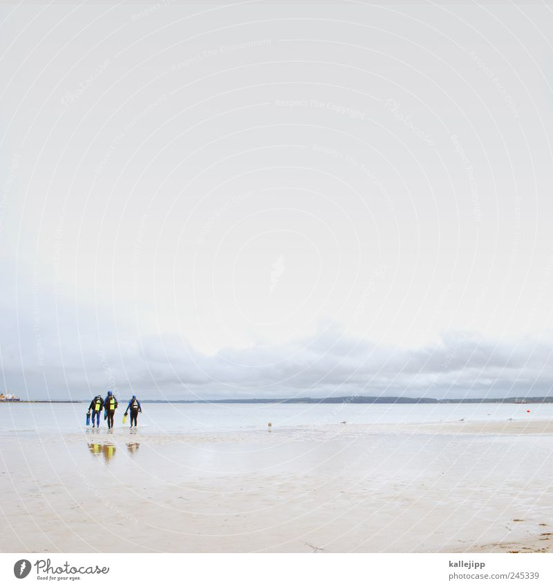 die tauch-gang Lifestyle Freizeit & Hobby Ferien & Urlaub & Reisen Tourismus Ausflug Ferne Freiheit Expedition Sommer Sommerurlaub Strand Meer Mensch maskulin