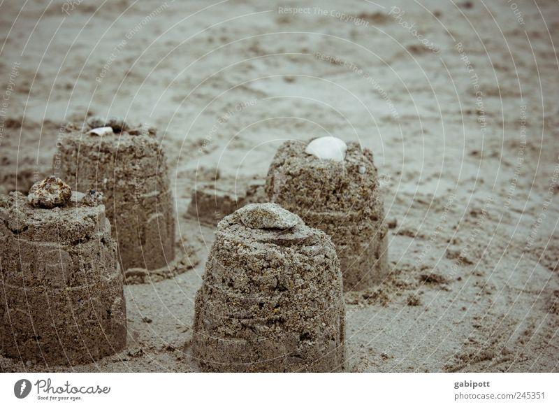 besser als traumschlösser Freizeit & Hobby Spielen Ferien & Urlaub & Reisen Tourismus Sommer Sommerurlaub Strand Sandburg Sandburgen-Wettbewerb authentisch