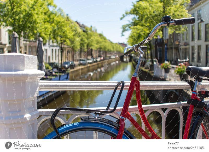 Hollandradl II Verkehr Verkehrsmittel Fahrrad ästhetisch Niederlande Farbfoto