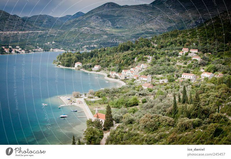 Im Süden von Kroatien Natur Freude Sommer Ferien & Urlaub & Reisen Strand Meer Freiheit Landschaft Glück träumen Ausflug Schwimmen & Baden Tourismus Europa Dorf