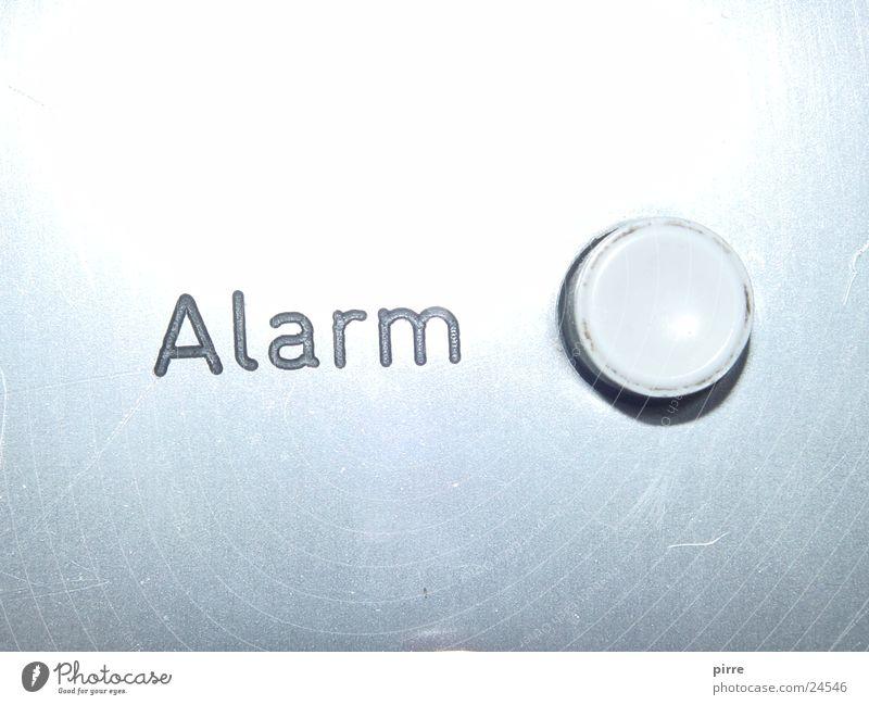 Alarm Schilder & Markierungen Hinweisschild Fahrstuhl Knöpfe Überbelichtung Notruf