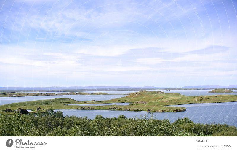 Pseudokrater 01 Natur Wasser Kraft Europa Energiewirtschaft Island Umweltschutz Vulkan Nationalpark Lava unberührt Vulkankrater