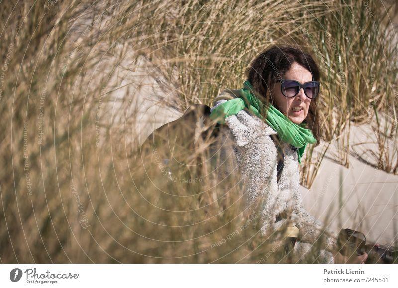 Spiekeroog | Deichkind Mensch Frau Natur Ferien & Urlaub & Reisen Pflanze ruhig Erwachsene Ferne Erholung Umwelt Freiheit Sand Freizeit & Hobby Ausflug