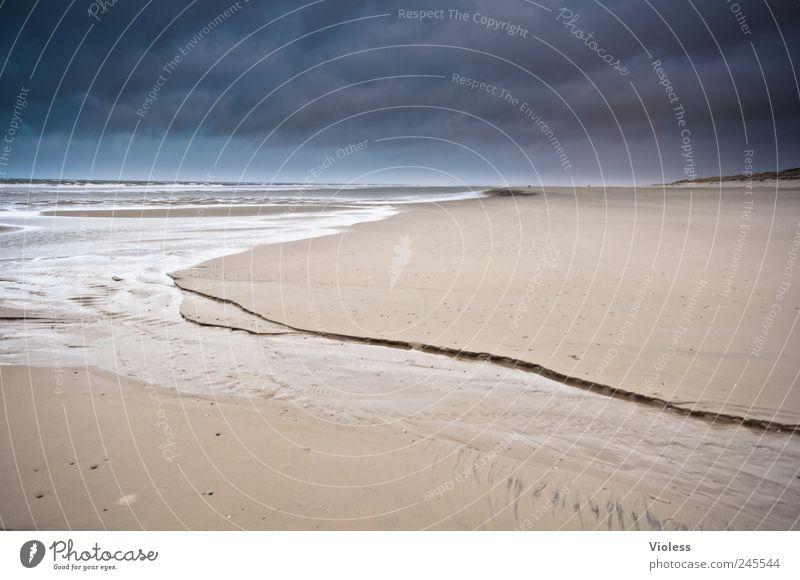 Spiekeroog   ...so far away Landschaft Sand Wasser Küste Strand Nordsee Insel entdecken Erholung Ferien & Urlaub & Reisen Ferne Farbfoto Außenaufnahme
