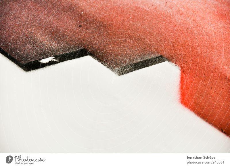 Transformers weiß rot schwarz Graffiti Farbstoff Kunst Lifestyle Ecke Bild Grenze Gemälde Teilung Karton Geometrie Künstler gerade