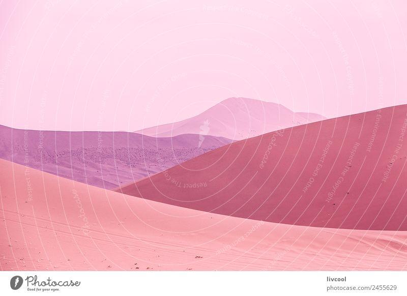 wüstenfarben, badain jaran-china Erholung Landschaft Pflanze Sand Himmel Wolken Baum Park Hügel See Wüste Ruine rosa Einsamkeit Abenteuer Zufriedenheit Farbe