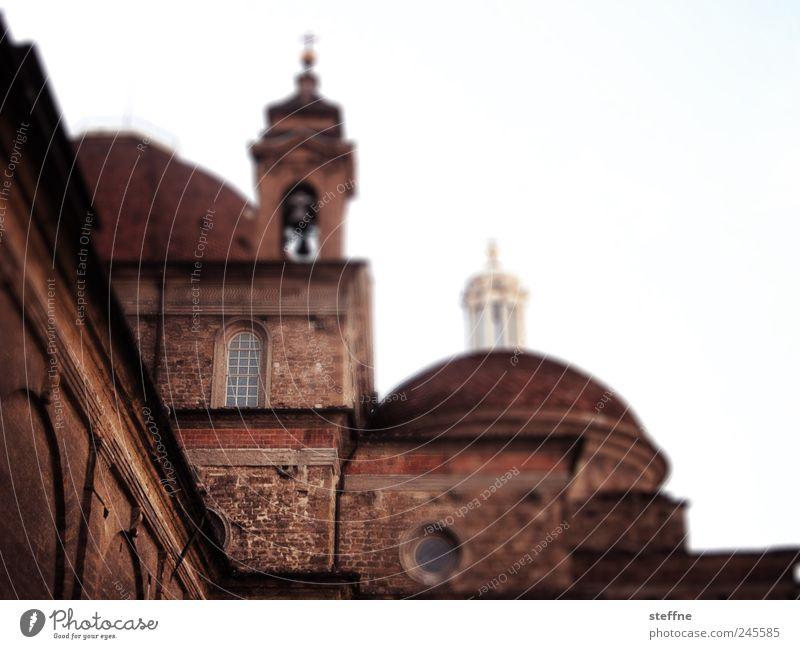 San Lorenzo Architektur Kirche Italien Sehenswürdigkeit Anschnitt Bildausschnitt Kathedrale Toskana Altstadt Kuppeldach Florenz Basilika Kirchturmspitze