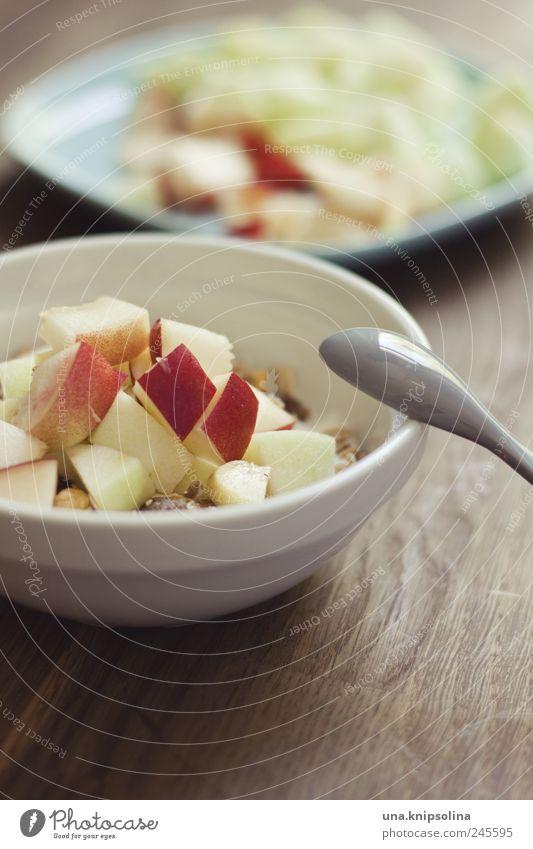 früchtemüsli Lebensmittel Salat Salatbeilage Frucht Müsli Ernährung Frühstück Bioprodukte Vegetarische Ernährung Diät Geschirr Teller Schalen & Schüsseln Löffel
