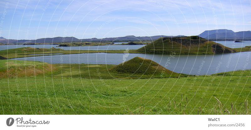 Pseudokrater 02 Natur Wasser Kraft Europa Energiewirtschaft Island Umweltschutz Vulkan Nationalpark Lava unberührt Vulkankrater
