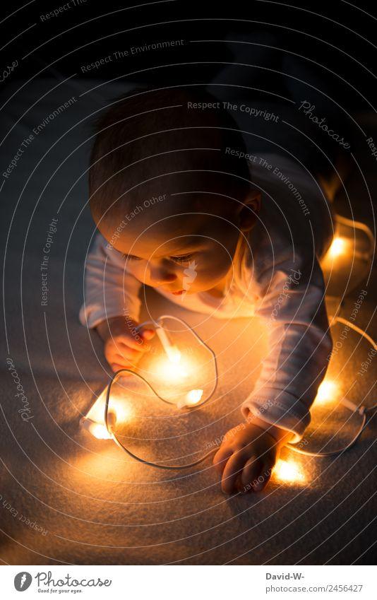 Emotionen | Meine erste Weihnachtszeit elegant Freude Glück harmonisch Wohlgefühl Zufriedenheit Häusliches Leben Wohnung Weihnachten & Advent Kindererziehung