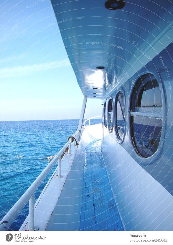 navigatio Himmel Natur Wasser schön Freude Sommer Ferien & Urlaub & Reisen Meer Ferne Freiheit Wellen Ausflug Insel Unendlichkeit Sehnsucht fantastisch