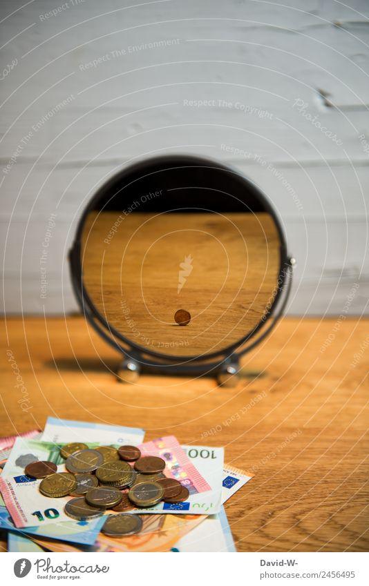 Inflation kaufen Reichtum elegant Stil Design Geld sparen Wirtschaft Handel Kapitalwirtschaft Börse Geldinstitut Business Unternehmen Karriere Erfolg