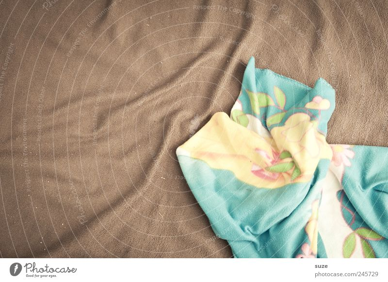 Kuschel-Alarm braun Hintergrundbild liegen weich Stoff Falte Decke Material kuschlig