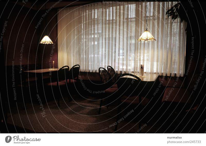 schlecht besucht Ernährung Frühstück Mittagessen Kaffeetrinken Lifestyle Stil Ferien & Urlaub & Reisen Tourismus Hotel Gastraum Frühstückstisch Wirtshaus