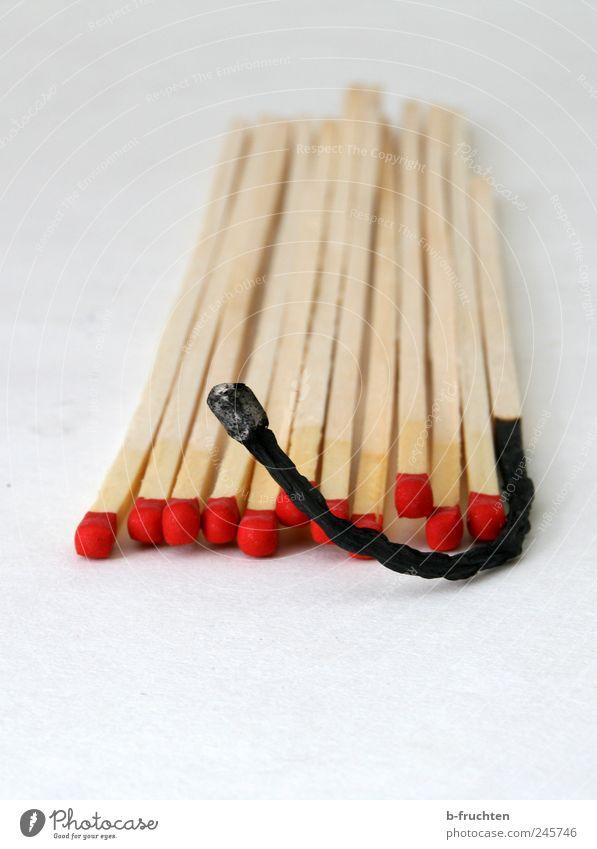 Brennstäbe Grill Holz eitel Armut einzigartig Krise Streichholz abgebrannt Feuer Farbfoto Innenaufnahme Studioaufnahme Nahaufnahme Detailaufnahme Menschenleer