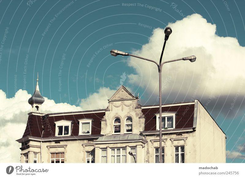 Scherben bestätigen die Regel. Haus Architektur Gebäude Zufriedenheit Fassade ästhetisch Macht Reichtum Altstadt