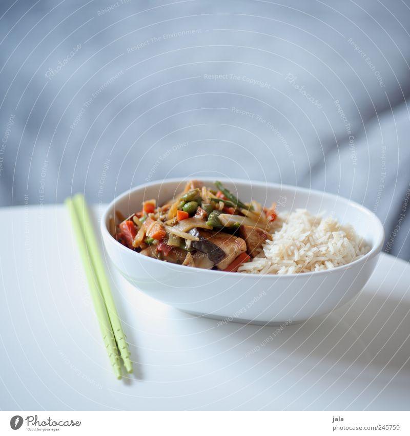 thai food Lebensmittel Gemüse Reis Ernährung Mittagessen Bioprodukte Vegetarische Ernährung Asiatische Küche Schalen & Schüsseln Besteck lecker Appetit & Hunger
