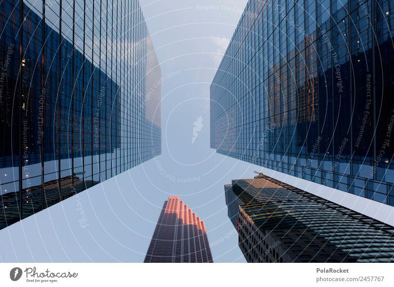 #A# Marktwirtschaft Skyline überbevölkert ästhetisch Architektur Hochhaus Business Business District Fassade Fassadenverkleidung Glas durchsichtig Macht