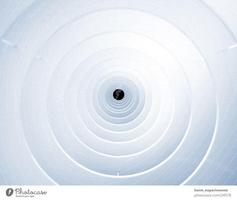 Der letzte Gang Tunnel Licht Kreisel Wasserwirbel Stil Dekoration & Verzierung Erkenntnis kultig obskur Loch Eisenrohr Makroaufnahme Niveau ikea