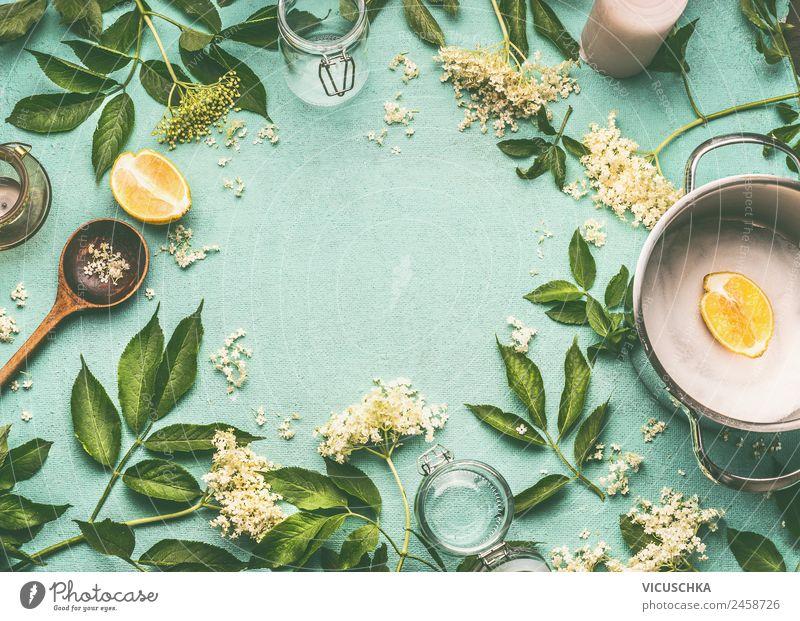 Holuderblüten kochen Natur Sommer Gesunde Ernährung Foodfotografie gelb Gesundheit Hintergrundbild Stil Lebensmittel Häusliches Leben Design kochen & garen