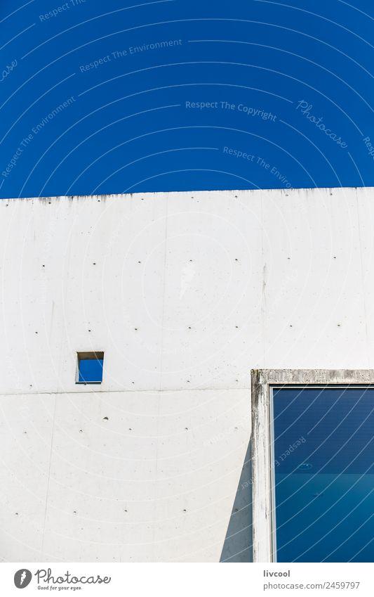 Stadt weiß Fenster Straße Architektur Holz Gebäude Kunst Schule Fassade Zufriedenheit modern Studium Beton Wahrzeichen Hauptstadt