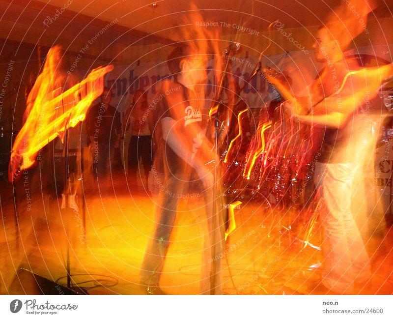big band Stimmung Konzert Party Mensch Musik Gitarre Klang fun