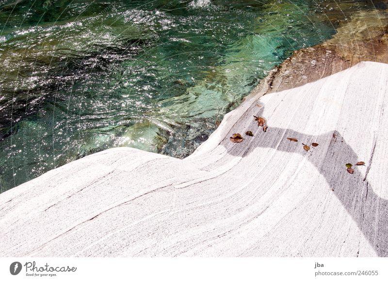 steter Tropfen... Natur alt Wasser Sommer Erholung Blatt Berge u. Gebirge Bewegung Stein ästhetisch nass Schönes Wetter Urelemente rund Unendlichkeit trocken