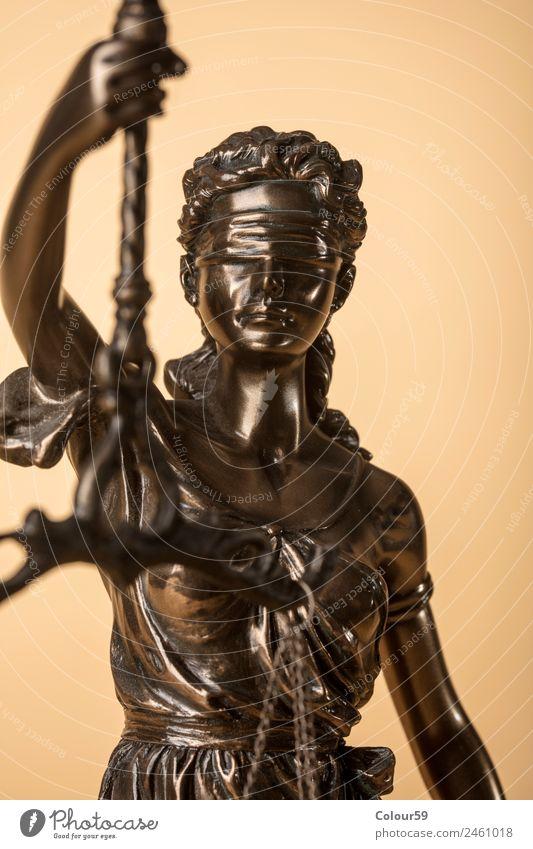 Justizia Figur Beruf Wirtschaft sprechen Waage Zeichen Gerechtigkeit Versicherung Symbole & Metaphern Gesetze und Verordnungen Rechtssprechung Anwalt