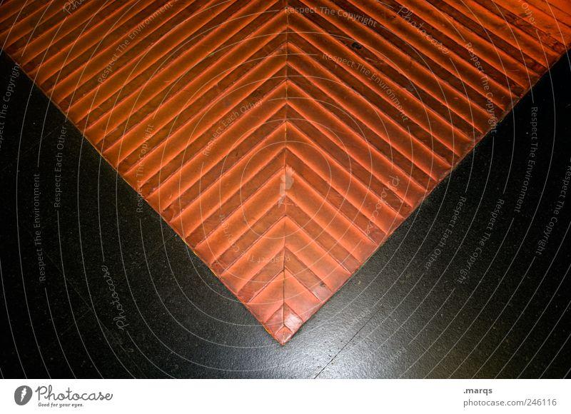 Schreib mal wieder! Dienstleistungsgewerbe Post Briefumschlag Zeichen Linie trashig schwarz Design Farbe orange Farbfoto Nahaufnahme abstrakt