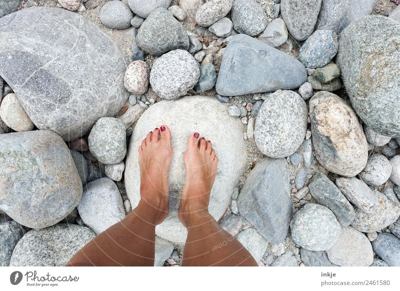 warme Steine Lifestyle schön Nagellack Wellness Wohlgefühl Sinnesorgane Erholung ruhig Freizeit & Hobby Ferien & Urlaub & Reisen Ausflug Sommer Sonne Strand