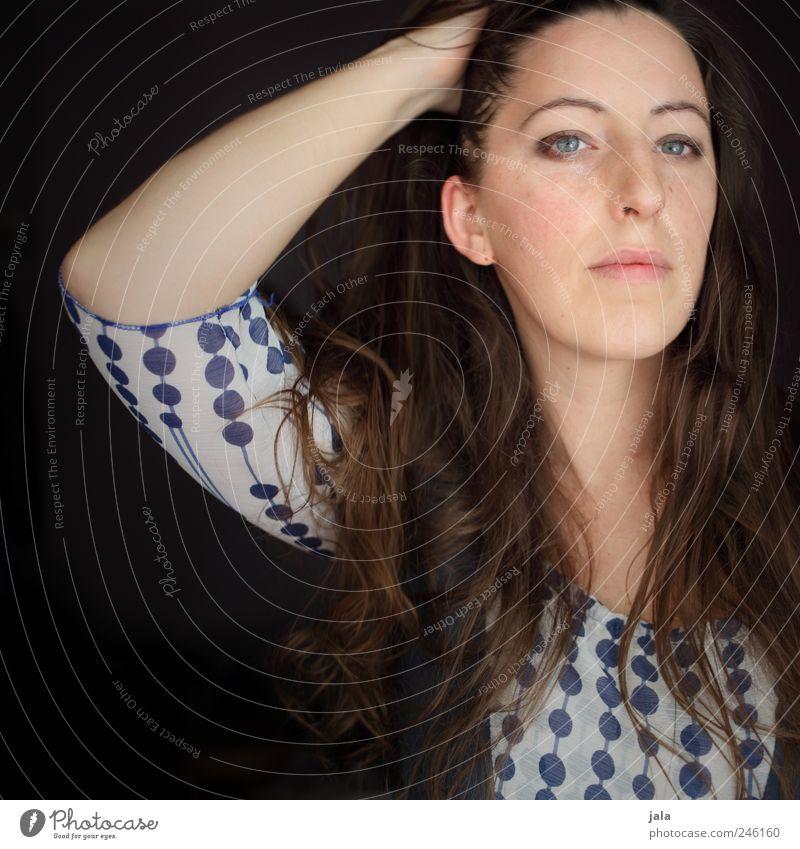 morgenstunde ist menschlich Mensch feminin Frau Erwachsene Gesicht 1 30-45 Jahre Blick Farbfoto Außenaufnahme Tag Porträt