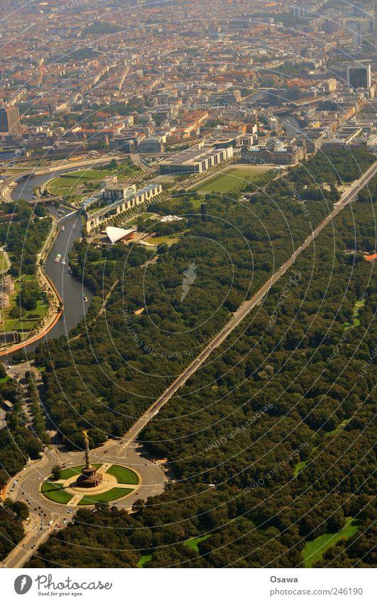 Tiergarten mit Regierungsviertel Stadt Baum Haus Wald Garten Gebäude Park Turm Bauwerk Denkmal Wahrzeichen Schifffahrt Stadtzentrum Handel Hauptstadt