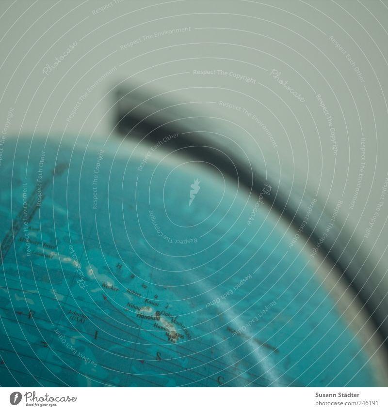 kurz nach Hawaii Meer Ferien & Urlaub & Reisen Pazifik Insel Erde Globus Lampe Nachttisch längenkreise Äquator Meerwasser Inselkette Amerika USA Farbfoto