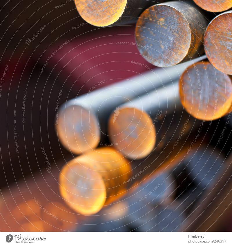 brennstäbe Handwerk Baustelle Werkzeug Baumaschine Motor Technik & Technologie Wissenschaften Kunst Metall Stahl alt außergewöhnlich Coolness dreckig dunkel