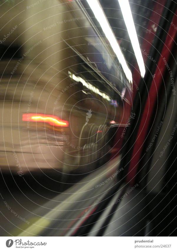 tunnel Tunnel Geschwindigkeit Verkehr Licht