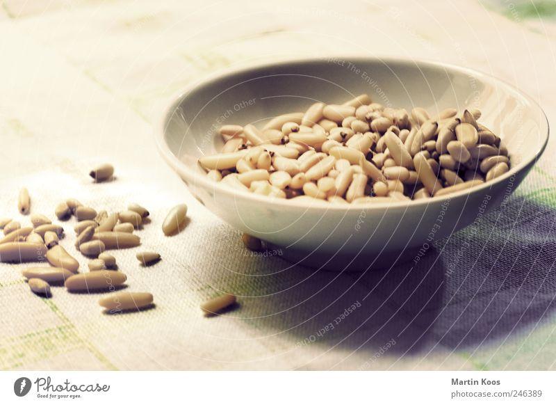 Zutat Frucht Lebensmittel Ernährung genießen Vegetarische Ernährung geschmackvoll Zutaten Nuss Foodfotografie Pesto Pinienkern