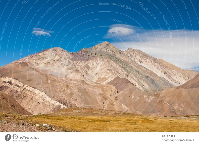 Himmel Natur Sommer Ferien & Urlaub & Reisen ruhig Ferne Freiheit Berge u. Gebirge Landschaft Umwelt wandern groß Tourismus Klettern Gelassenheit Schönes Wetter