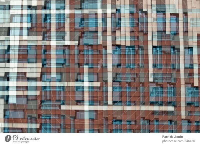Tetris Stadt Haus Wand Mauer Architektur Gebäude Kunst Kraft Fassade Design modern Perspektive ästhetisch Wandel & Veränderung Kreativität einzigartig