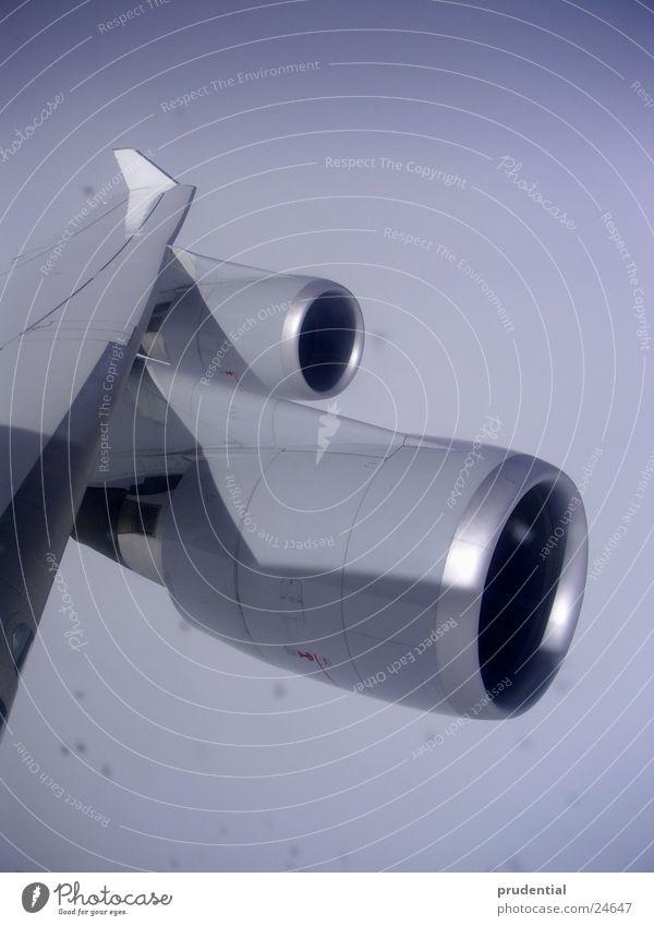 747 Ferien & Urlaub & Reisen Flugzeug Technik & Technologie Fernweh Triebwerke