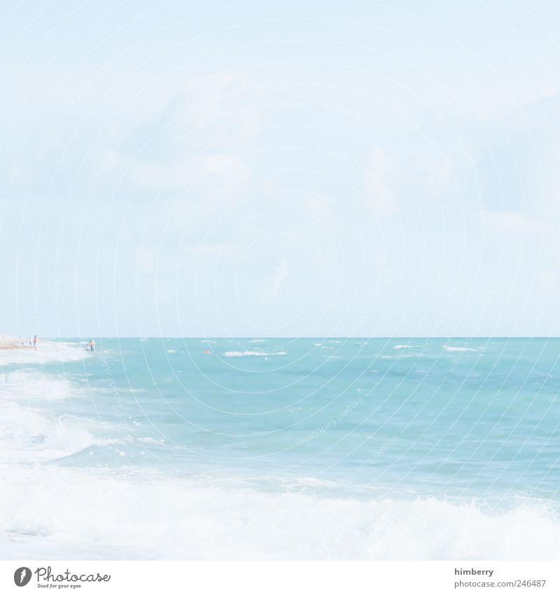 warten auf irene Mensch Himmel Natur Ferien & Urlaub & Reisen Sommer Meer Erholung ruhig Landschaft Wolken Strand Ferne Umwelt Küste Freiheit Zufriedenheit