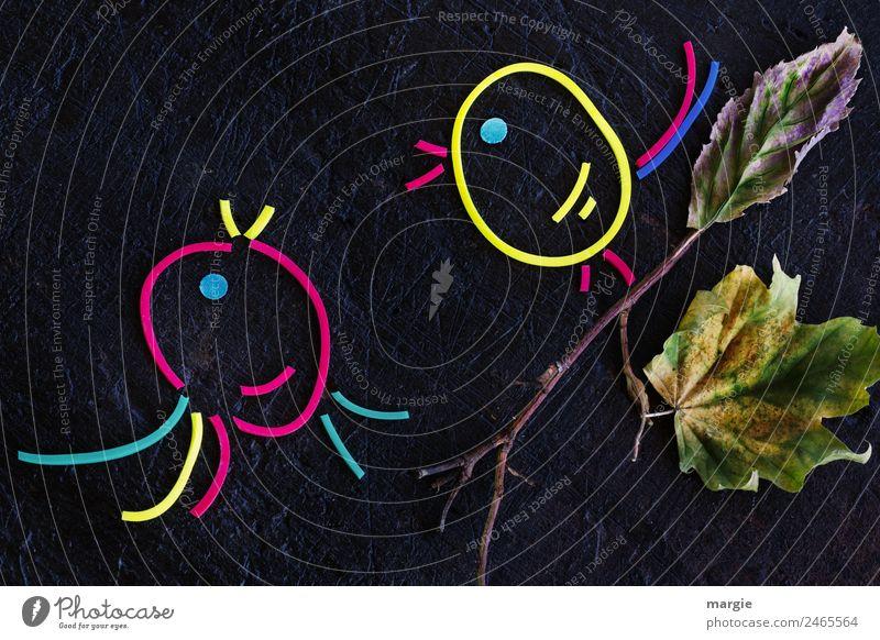 Gummiwürmer: Vogelgezwitscher rot Tier schwarz gelb Wildtier