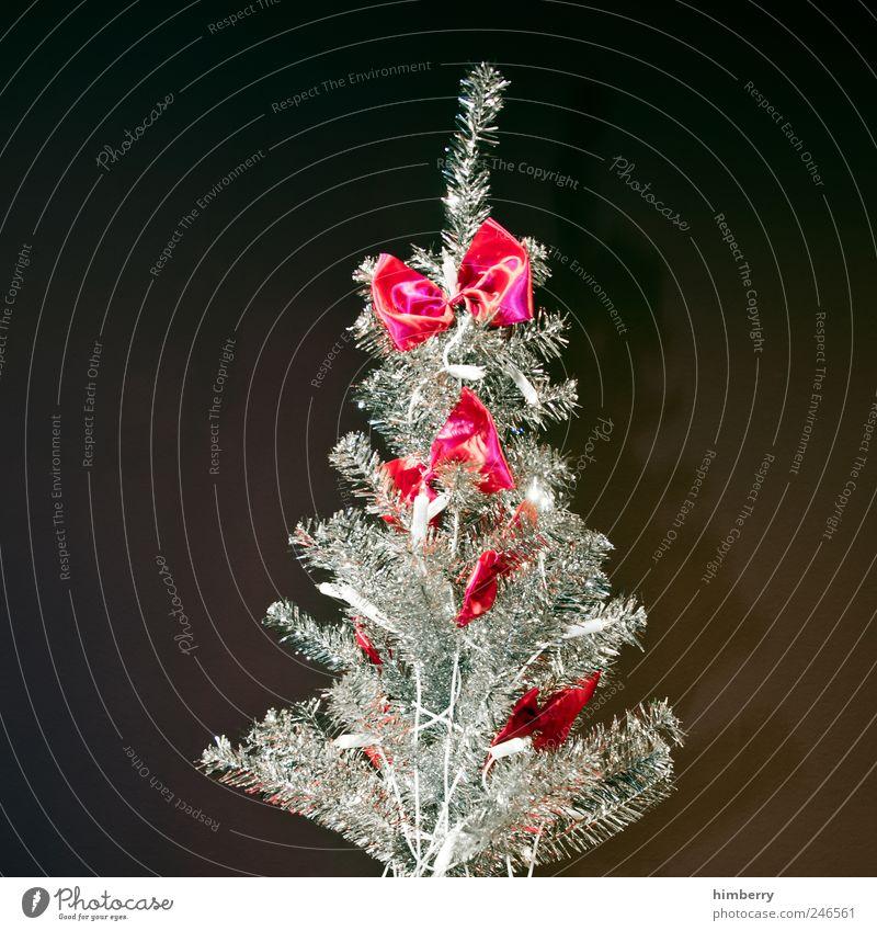 merry irene Lifestyle Stil Design Dekoration & Verzierung Feste & Feiern Kultur Metall Kunststoff Zeichen Schleife Kitsch Weihnachtsbaum Weihnachtsmarkt