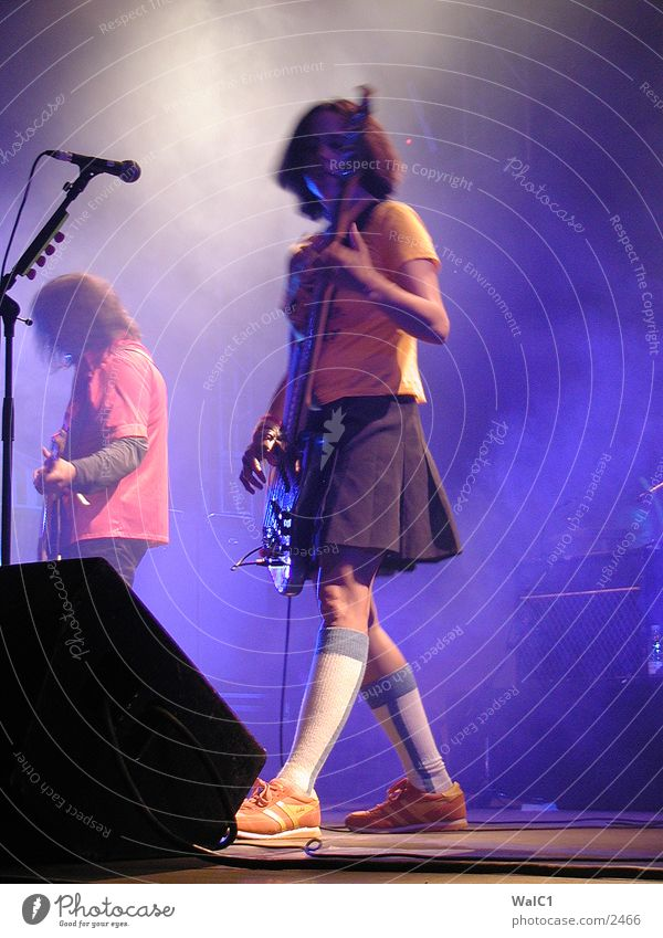 Tito & Tarantula Frau Musik USA Club Konzert Rockmusik Bühne Gitarre Klang Musikinstrument