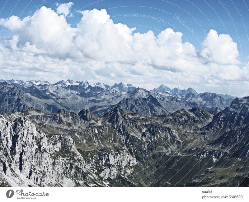 mountain views Himmel Natur Wolken Erholung Freiheit Berge u. Gebirge Landschaft Unendlichkeit Alpen