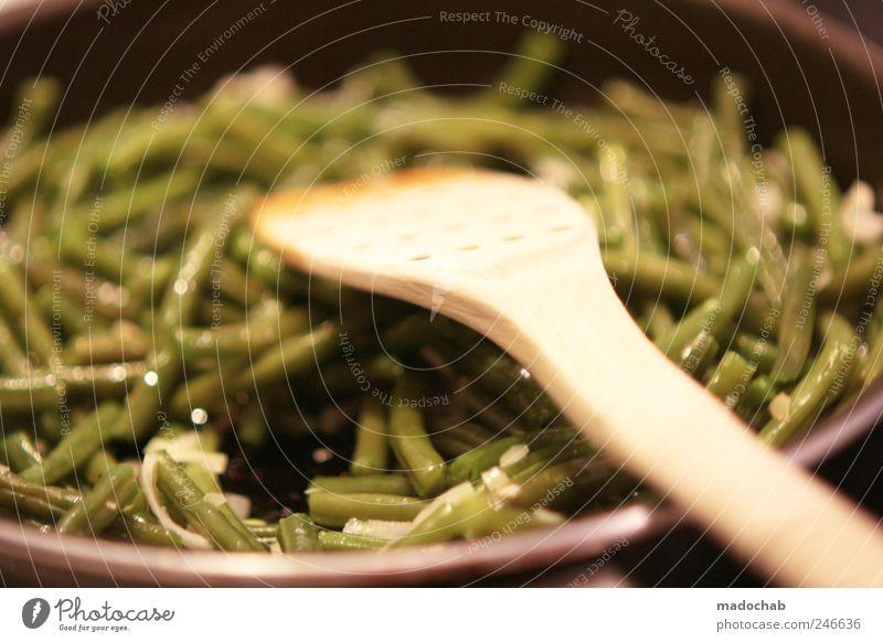Wer ernten will, gibt ein Tönchen. Gemüse Kräuter & Gewürze Bohnen Ernährung Mittagessen Bioprodukte Vegetarische Ernährung Slowfood Pfanne Lifestyle Gesundheit
