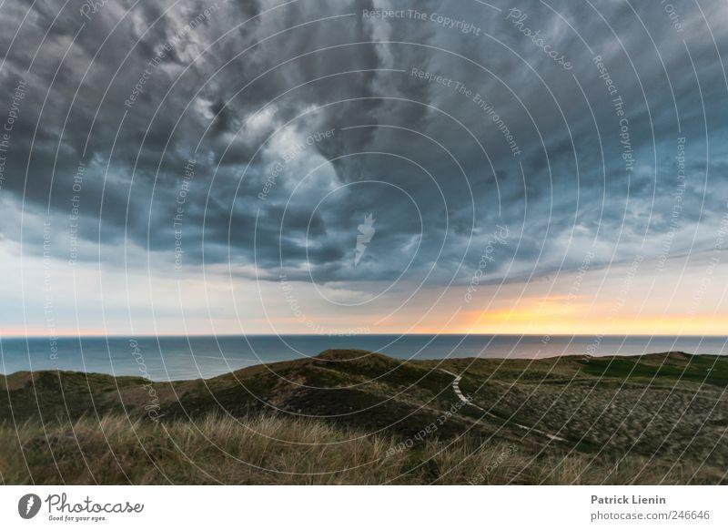 Dream Theater Strand Meer Insel Umwelt Natur Landschaft Urelemente Luft Wasser Himmel Wolken Gewitterwolken Klima Wetter Schönes Wetter Unwetter Wind Küste