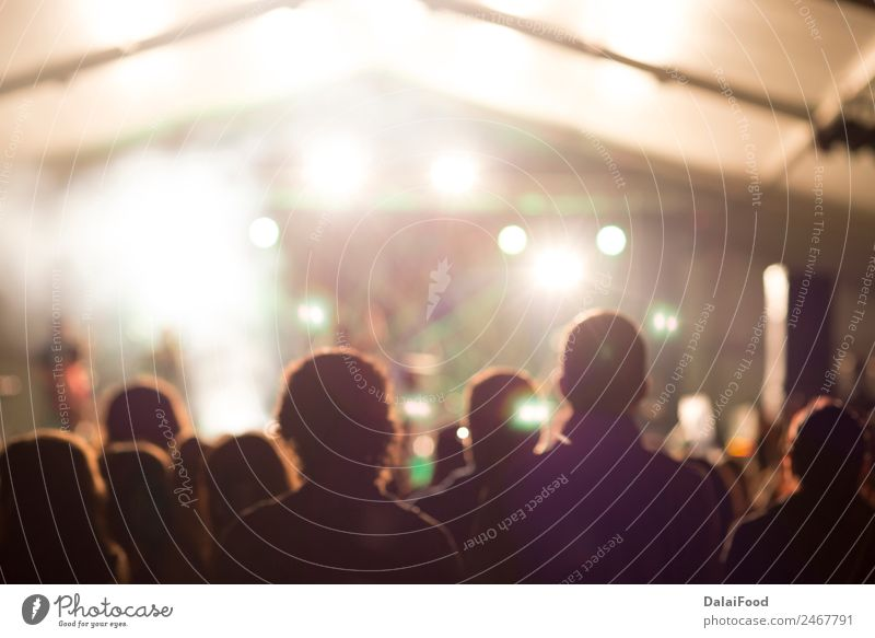 Konzert Lifestyle Freude Glück Leben Spielen Nachtleben Entertainment Musik Club Disco clubbing Tanzen Mann Erwachsene Arme Hand Menschengruppe Band Felsen groß